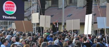 Március 15. tüntetés 3. – Szilágyi Lenke
