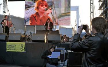 Március 15. tüntetés 8. – Szilágyi Lenke