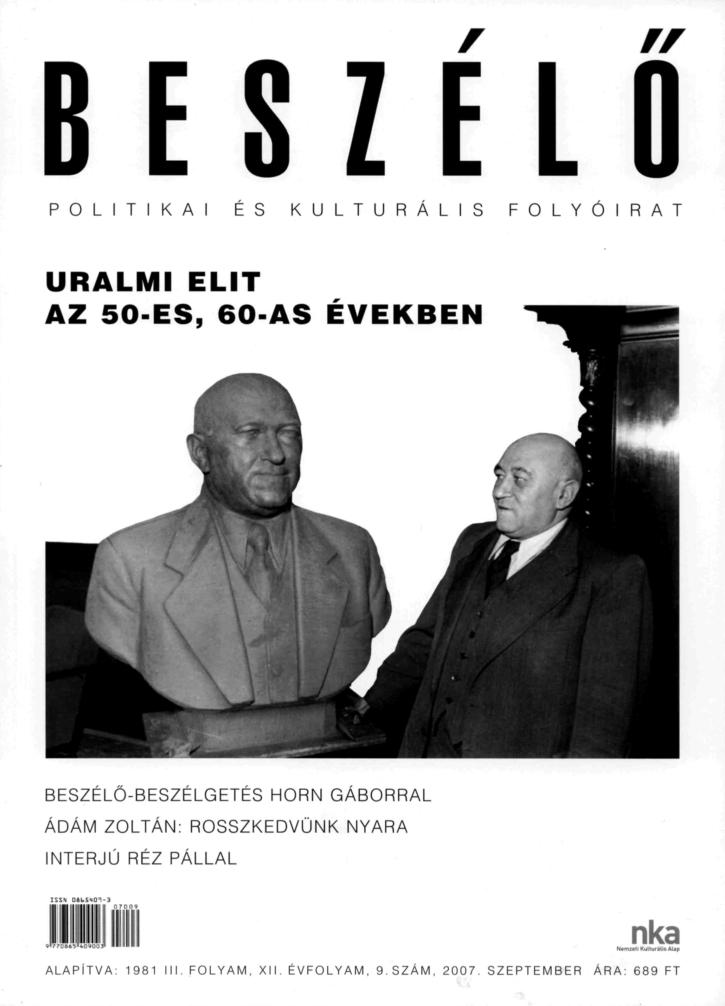 """Képtalálat a következőre: """"Az uralmi elit életformája Magyarországon az 1950-es, 1960-as években"""""""